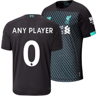 New Balance Liverpool 2019-20 3rd Custom Stadium Jersey