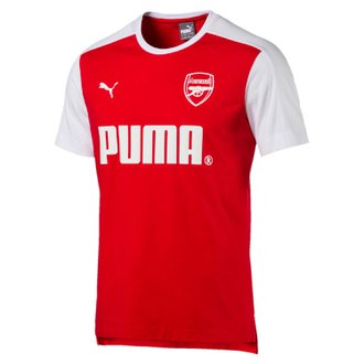 Puma Arsenal Short Sleeve T-Shirt