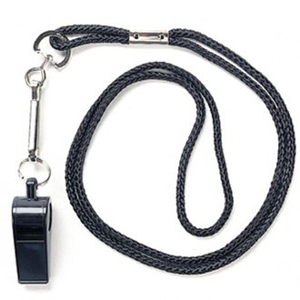 Kwik Goal Whistle Neck Lanyard