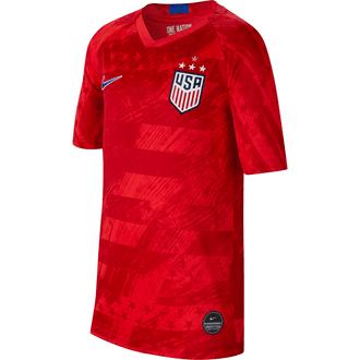 Nike United States 2019 4-Star Away Youth Stadium Jersey