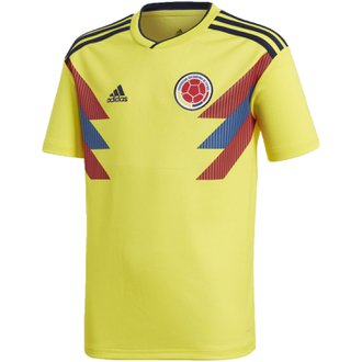 03e195e4f0a adidas Colombia 2018 World Cup Youth Home Replica Jersey