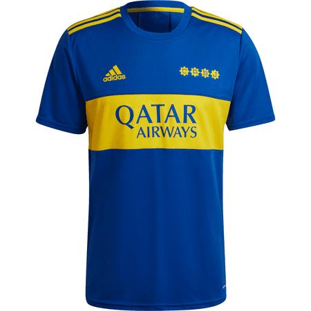 adidas Boca Juniors 2021-22 Men's Home Stadium Jersey