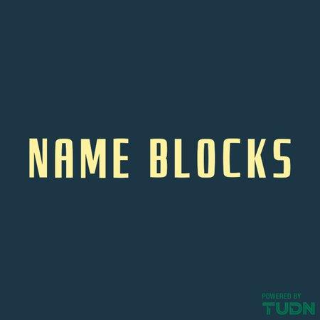 Club America 2019-20 Adult Name Block
