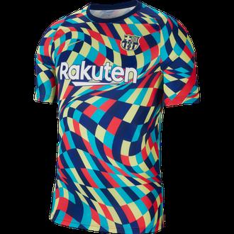 Nike 20-21 Barcelona Prematch Top