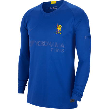 Nike 2020 Commemorative Chelsea FA Cup Long Sleeve Stadium Jersey