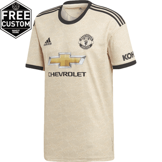 adidas Manchester United Jersey de Visitante 19-20
