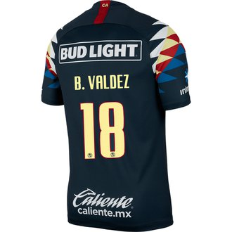Nike Club América Valdez Jersey Visitante 19-20