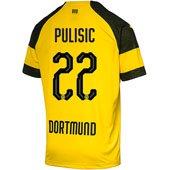 Puma BVB Dortmund Pulisic Home 2018-19 Replica Jersey