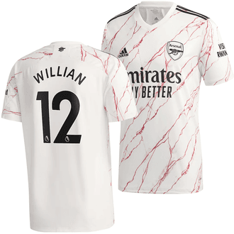 adidas Arsenal Away Willian 2020-21 Men