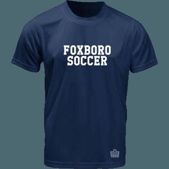 Foxboro Youth Soccer Navy Training Jers