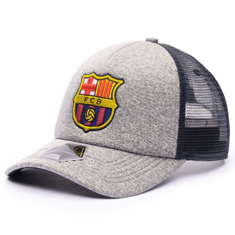 Fan Ink FC Barcelona Grayline Trucker Hat