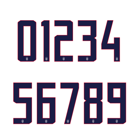United States 2019 Womens 4 Star Number