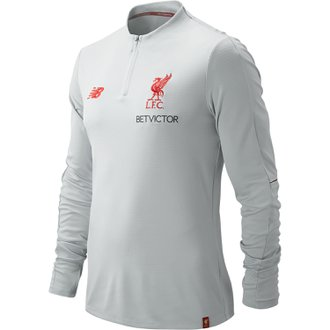 New Balance Liverpool Elite Training Mid Layer Qtr Zip Top
