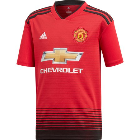 adidas Manchester United Jersey Replica de Local para Niños 18-19