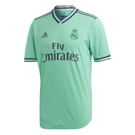 New Real Madrid adidas Men/'s 2019-20 Authentic Away Shorts with Numbers