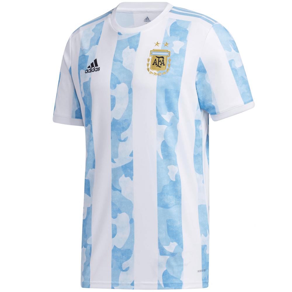 Adidas 2021 Argentina AFA Home Men's Stadium Jersey ...