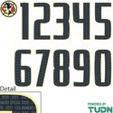 Club America 20-21 Adult Numbers