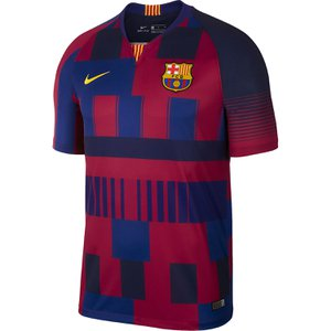 more photos 465d9 0f00d Nike FC Barcelona Home 20th Anniversary Stadium Jersey