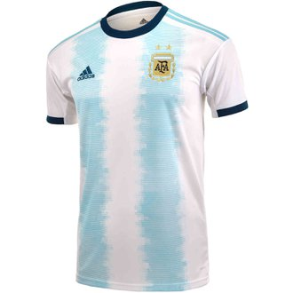 348051a12 adidas Argentina 2019 Home Youth Stadium Jersey
