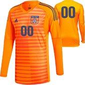 Far Post SC LS Orange GK Jersey