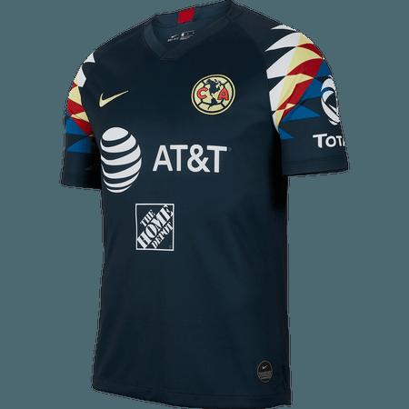Nike Club America 2019-20 Away Stadium Jersey