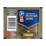 Panini World Cup 2018 Stickers (25 Pack)