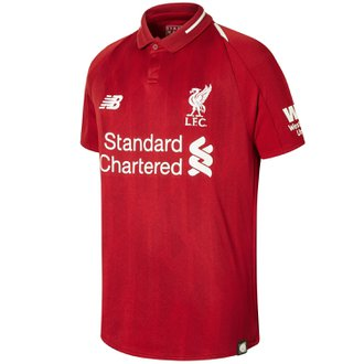 New Balance Youth Liverpool 2018-2019 Home Replica Jersey