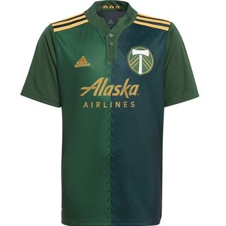 adidas Portland Timbers Playera de Local 2021-22 para Niños
