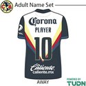 Club America 20-21 Adult Namesets
