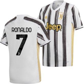 adidas Juventus Youth Ronaldo Home 2020-21 Replica Jersey