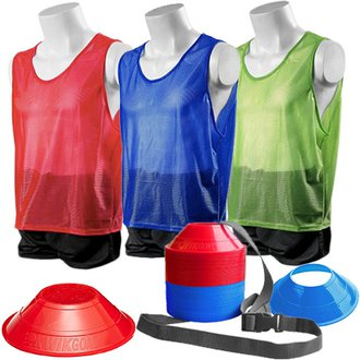 Kwik Goal Mini Cone and Vest Kits