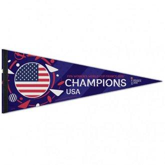 """WinCraft USA Banderín de campeones de la Copa del Mundo 2019 - 12"""" x 30"""""""