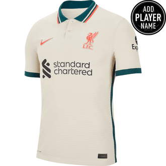 Nike Liverpool Jersey Auténtica de Visitante 21-22