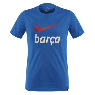 Nike Barcelona Camiseta Swoosh Club para Niños 21-22