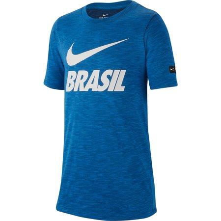 Nike Brasil Slub Camiseta  para niños
