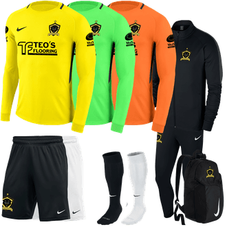 Jaguars United FC Required GK Kit