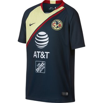 Nike Club America Away 2018-19 Youth Stadium Jersey