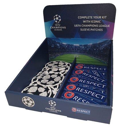 UEFA Badge Display 215mm by 250mm