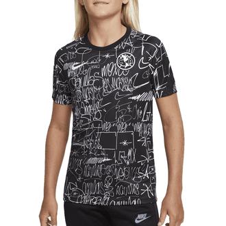 Nike Club América LAxLA Camiseta de Pre-Partido para Niños