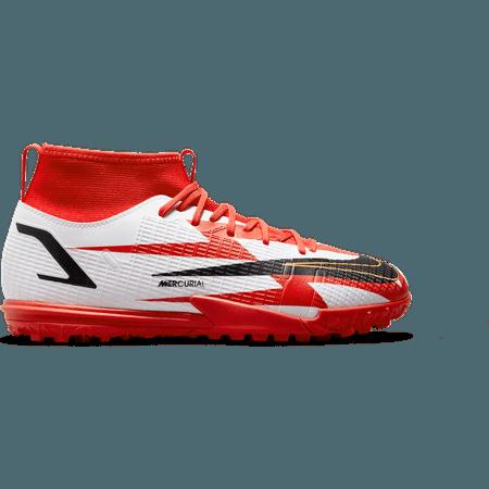 Nike Youth Mercurial Superfly 8 Academy Turf - CR7 Spark Positivity