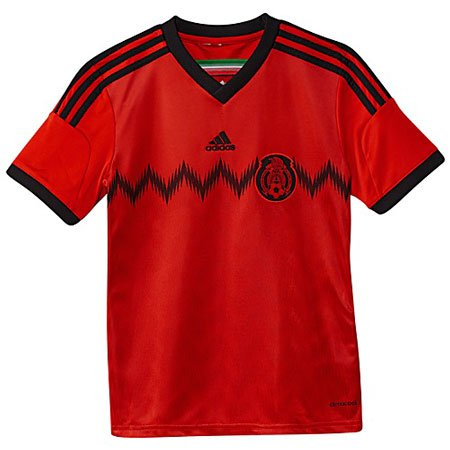 brand new 981d5 c5960 adidas Mexico Away Youth Replica Jersey
