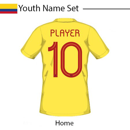 Colombia 2020 Adult Name Set