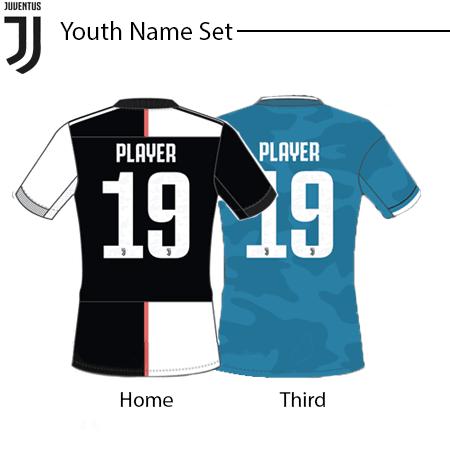 Juventus 2019-20 Youth Name set