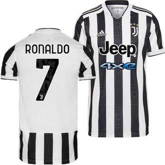 adidas Juventus Ronaldo Home 2021-22 Replica Jersey