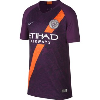 Nike Manchester City 3rd 2018-19 Youth Stadium Jersey