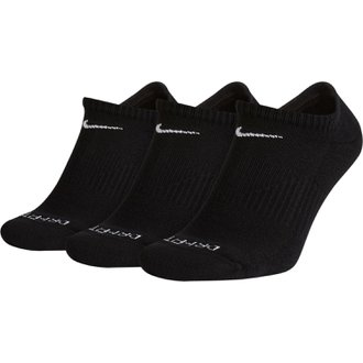 Nike 3pk Dri-Fit Cushion No Show Socks