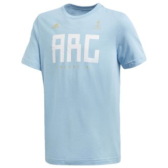 adidas Argentina Youth World Cup Tee