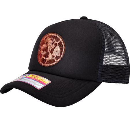Fan Ink Gorra Snapback con escudo de Club America