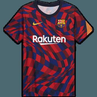 Nike 2020-21 FC Barcelona Youth Pre-Match Top