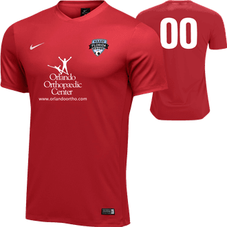 Florida Kraze Krush Red GK Jersey